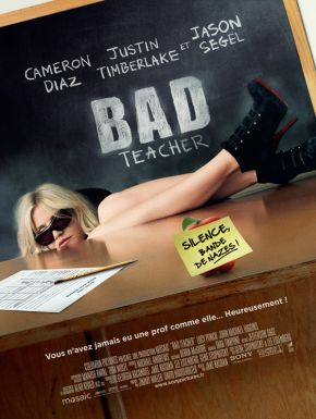 Bad Teacher DVD et Blu-Ray