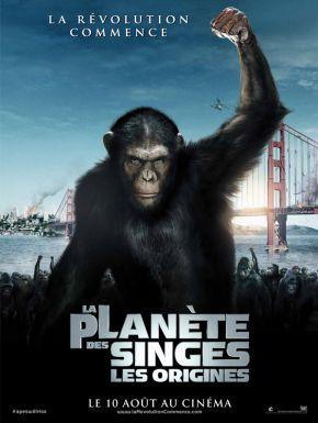 sortie dvd  La Planète Des Singes - Les Origines
