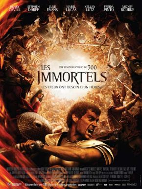 Les Immortels DVD et Blu-Ray