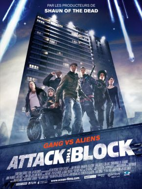 Jaquette dvd Attack The Block