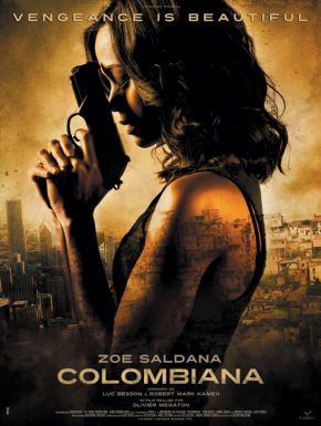 Colombiana DVD et Blu-Ray
