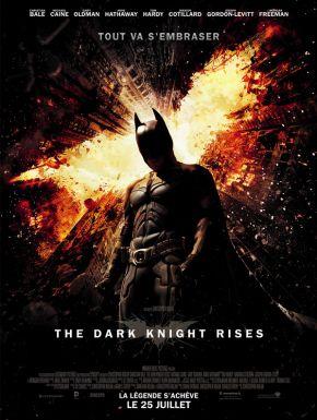 The Dark Knight Rises DVD et Blu-Ray