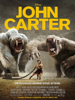 John Carter DVD et Blu-Ray