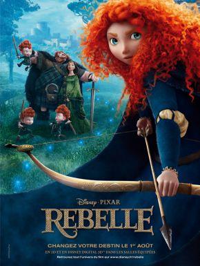 Jaquette dvd Rebelle