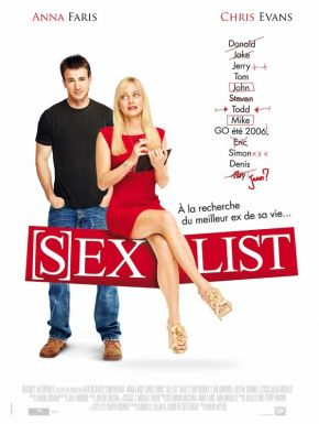 sortie dvd  Sex List