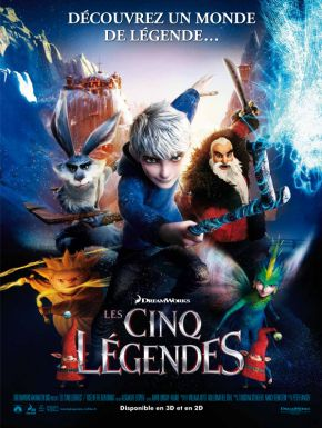 DVD Les Cinq Légendes