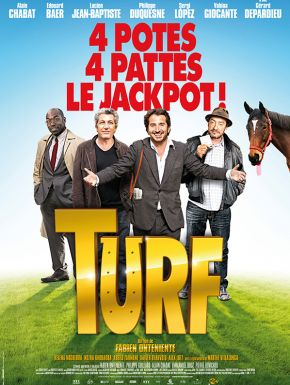 Jaquette dvd Turf