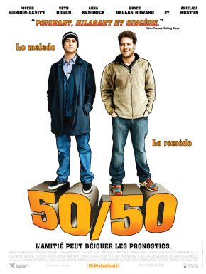 50-50 DVD et Blu-Ray