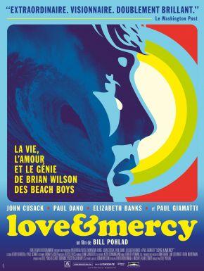 DVD Love & Mercy, La Véritable Histoire De Brian Wilson Des Beach Boys