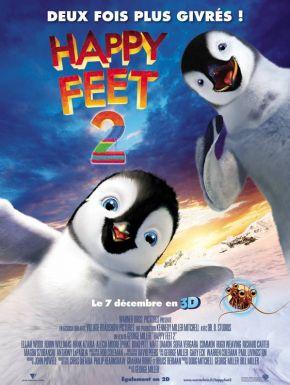 sortie dvd  Happy Feet 2