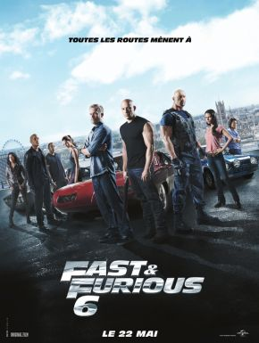 Fast & Furious 6 DVD et Blu-Ray