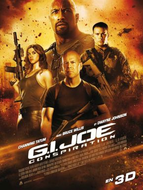 Jaquette dvd G.I. Joe : Conspiration