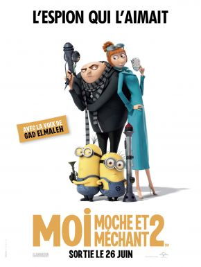 DVD Moi, Moche Et Méchant 2