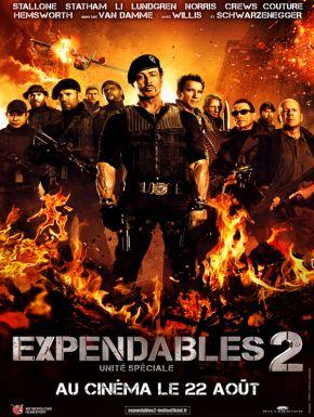 Expendables 2 : Unité Spéciale DVD et Blu-Ray
