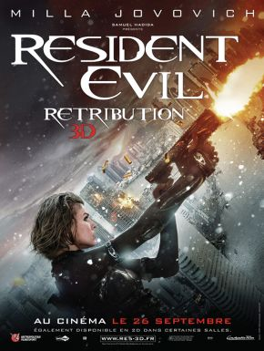Resident Evil: Retribution DVD et Blu-Ray