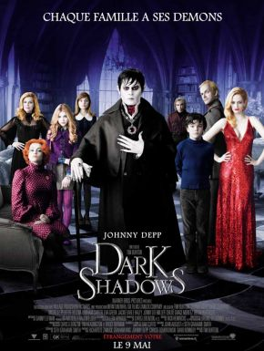 Dark Shadows DVD et Blu-Ray