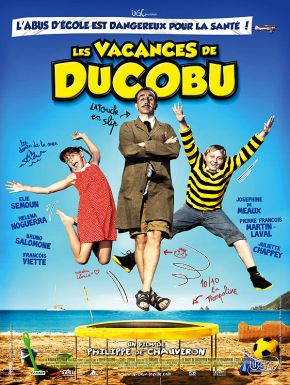 Jaquette dvd Les Vacances De Ducobu