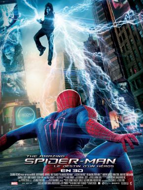 Jaquette dvd The Amazing Spider-Man : Le Destin D'un Héros