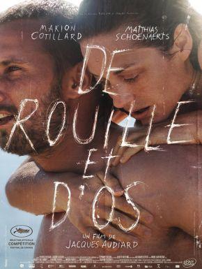 Jaquette dvd De Rouille Et D'os