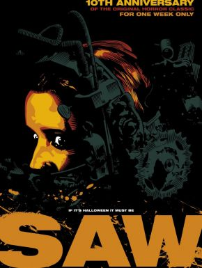 Jaquette dvd Saw