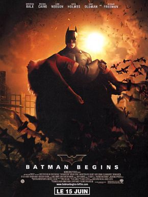 Sortie DVD Batman Begins