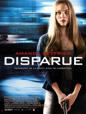 Jaquette dvd Disparue