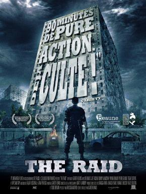 Jaquette dvd The Raid