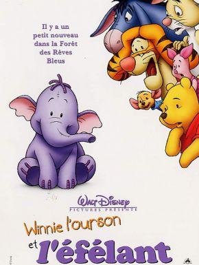 Winnie l'Ourson et l 'Efélant DVD et Blu-Ray