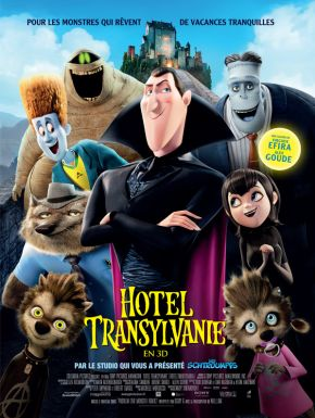 Jaquette dvd Hôtel Transylvanie