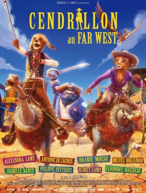 sortie dvd	  Cendrillon Au Far West