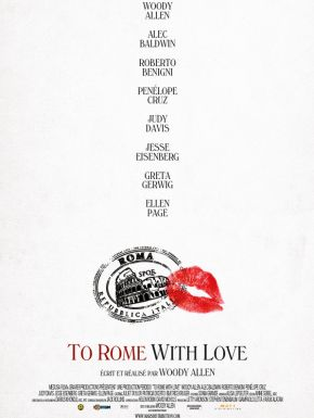 Sortie DVD To Rome With Love