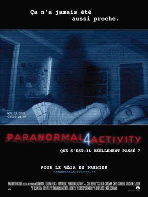Sortie DVD Paranormal Activity 4