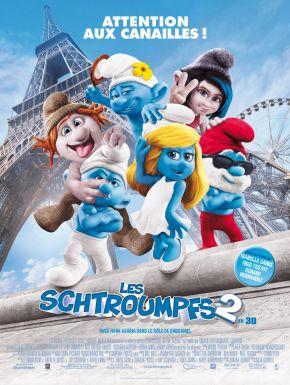 Jaquette dvd Les Schtroumpfs 2