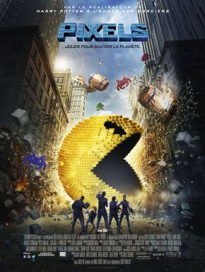 sortie dvd  Pixels