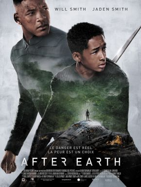 Jaquette dvd After Earth
