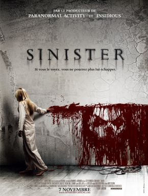 Sinister DVD et Blu-Ray