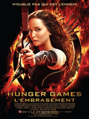 Jaquette dvd Hunger Games : L'embrasement