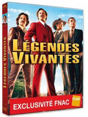 sortie dvd  La Légende De Ron Burgundy 2