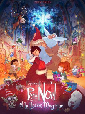DVD L'Apprenti Père Noël Et Le Flocon Magique