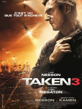 Taken 3 DVD et Blu-Ray