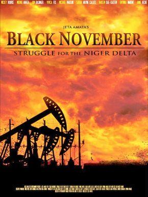 sortie dvd  Black November
