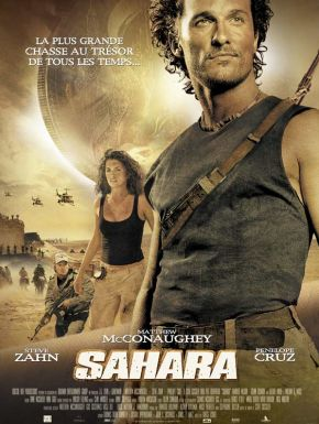 Sahara DVD et Blu-Ray