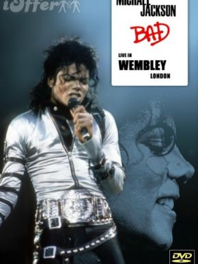 DVD Michael Jackson Live At Wembley July 16, 1988