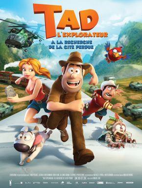 Sortie DVD Tad L'explorateur : A La Recherche De La Cité Perdue