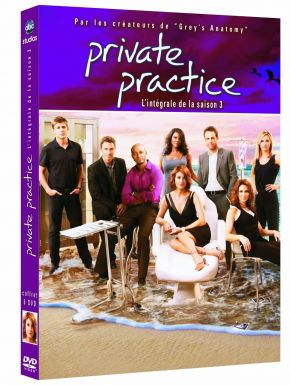 Private Practice Saison 3 DVD et Blu-Ray