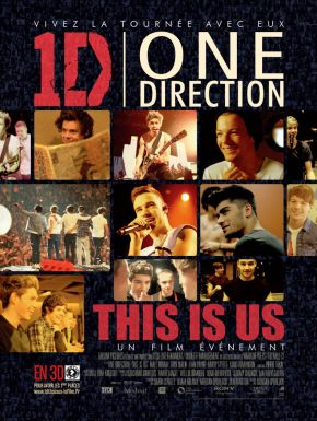 sortie dvd	  One Direction - Le Film