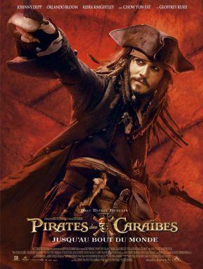 Pirates Des Caraïbes : Jusqu'au Bout Du Monde DVD et Blu-Ray