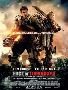 Jaquette dvd Edge Of Tomorrow