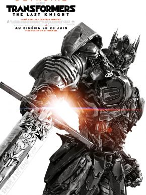 Sortie DVD Transformers: The Last Knight