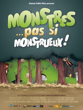 Jaquette dvd Monstres... Pas Si Monstrueux !